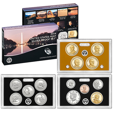 US Proof Set 2014 Silver