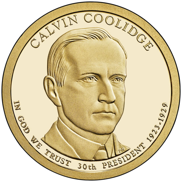 Presidential Dollars Calvin Coolidge 2014-D 25 pcs (Roll)