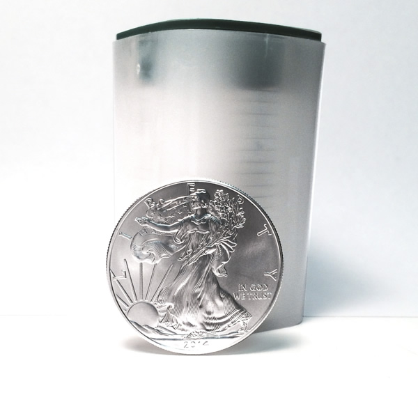 2015 Silver Eagle Roll of 20 Uncirculated Coins
