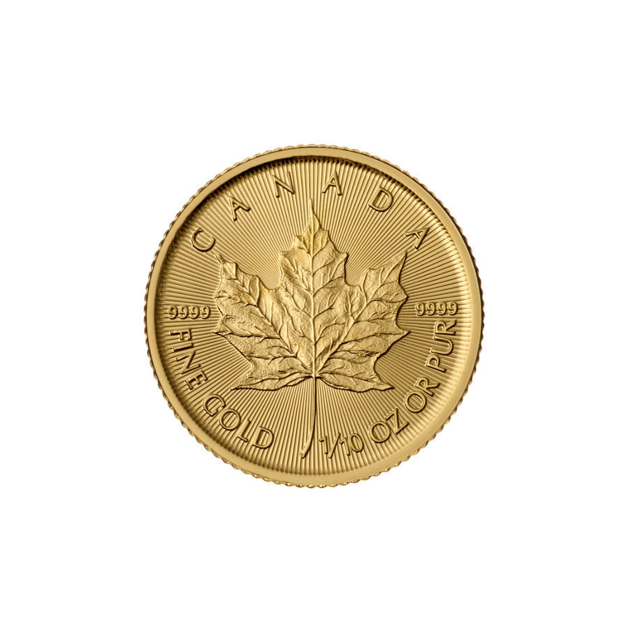 2015 1/10 oz Canadian Gold Maple Leaf Uncirculated