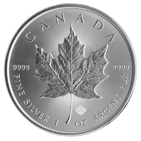 2015 Silver Maple Leaf 1 oz Uncirculated