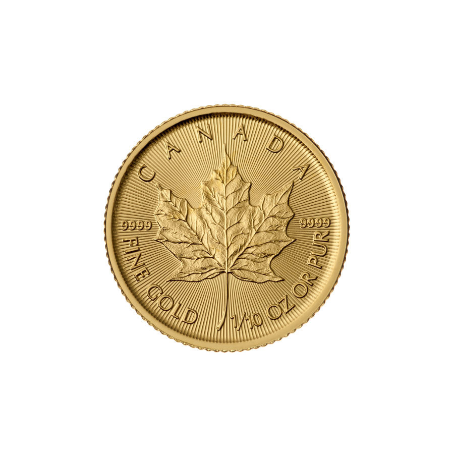 2016 1/10 oz Canadian Gold Maple Leaf Uncirculated