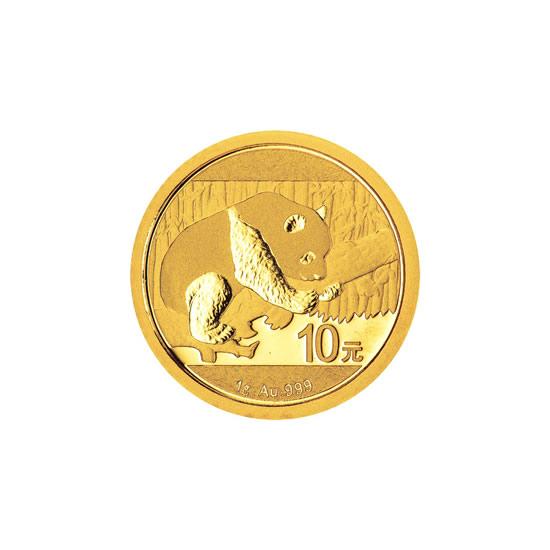 Chinese Gold Panda 1 Gram 2016
