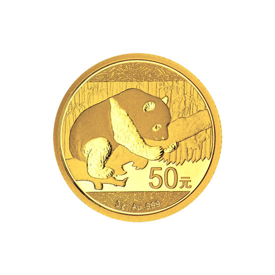 Chinese Gold Panda 3 Gram 2016