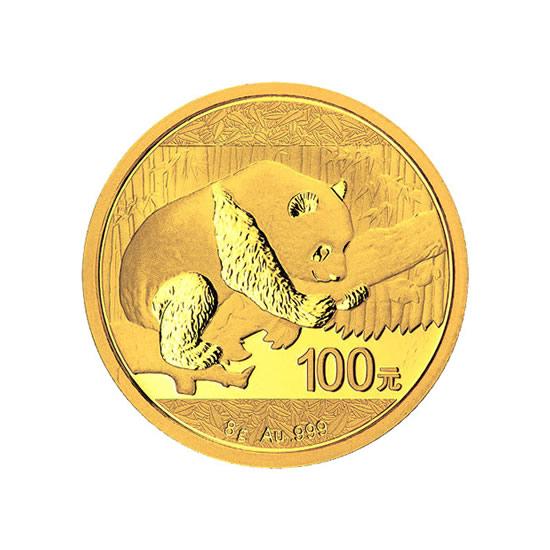 Chinese Gold Panda 8 Gram 2016