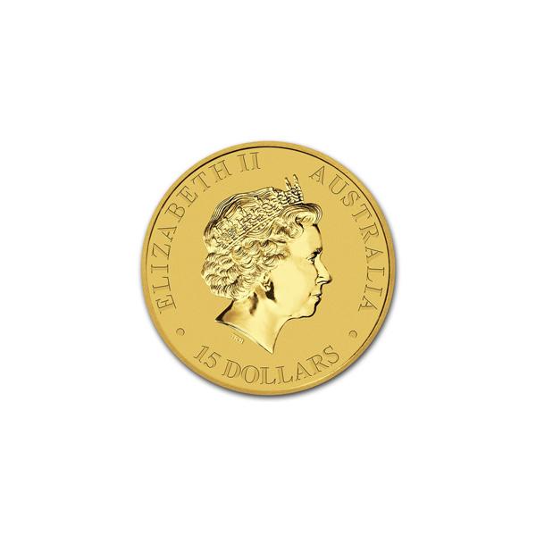 Reverse - 2016 Australia Gold Kangaroo 1/10 oz
