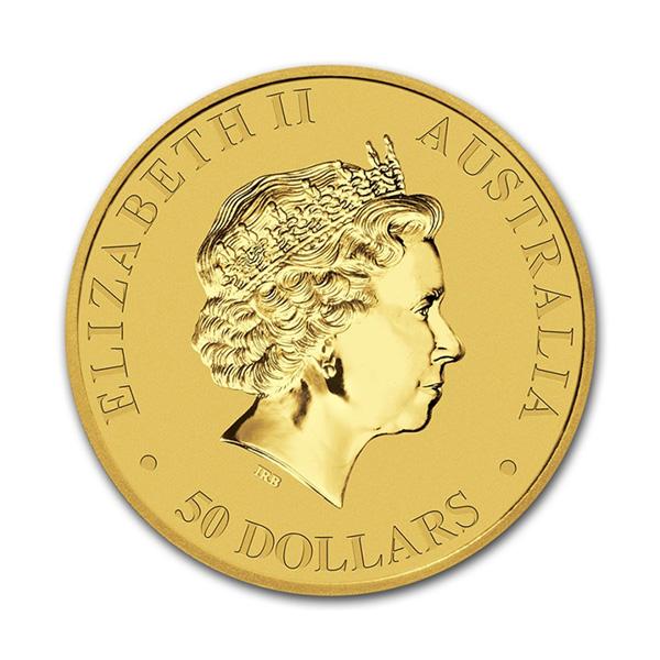 Reverse - 2016 Australia Gold Kangaroo 1/2 oz