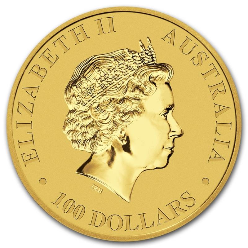Reverse - 2016 Australia Gold Kangaroo 1 oz