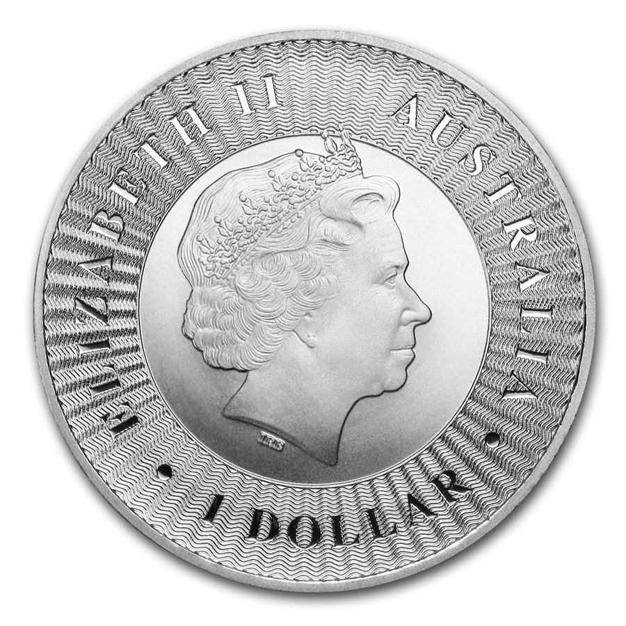 2016 Australia 1 oz Silver Kangaroo Coin