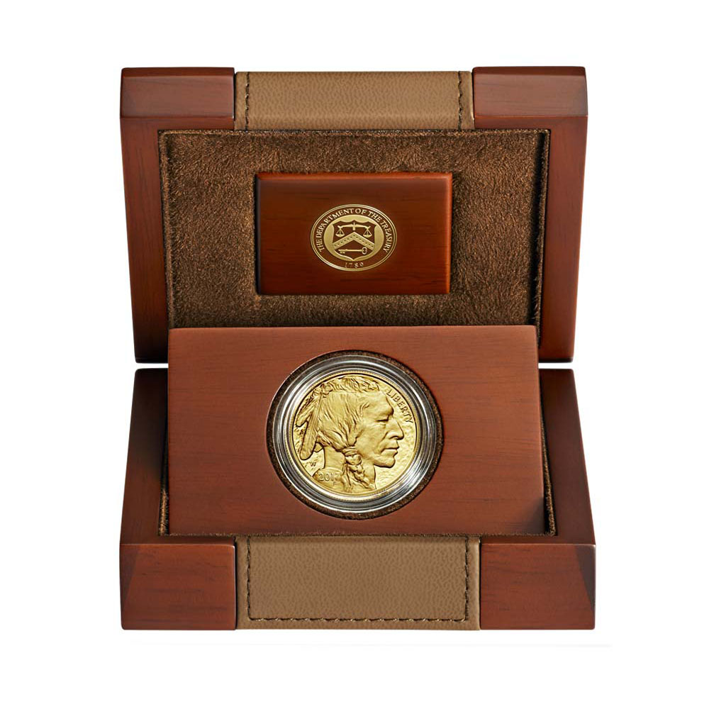 Proof Buffalo Gold Coin One Ounce 2017-W