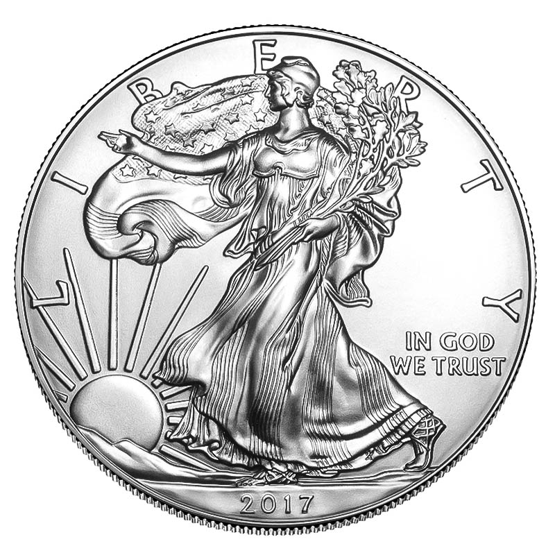 2017 Silver Eagle 1 oz Uncirculated