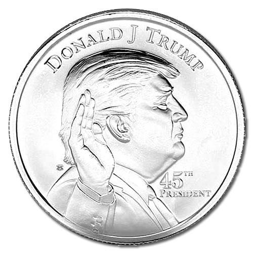 Donald Trump Silver Round Donald Trump Silver Coin