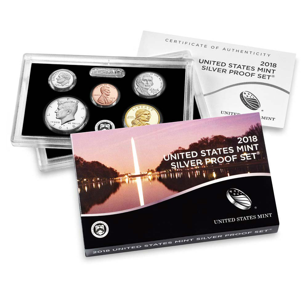 US Proof Set 2018 Silver