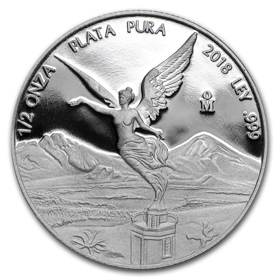 Mexico 1/2 ounce silver Libertad Proof 2018