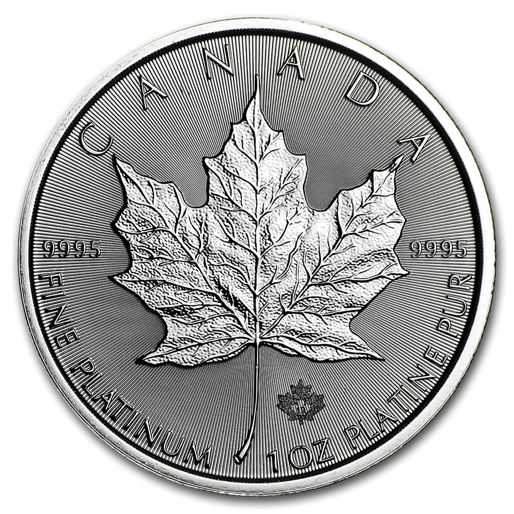 2020 Platinum 1oz Canadian Maple Leaf