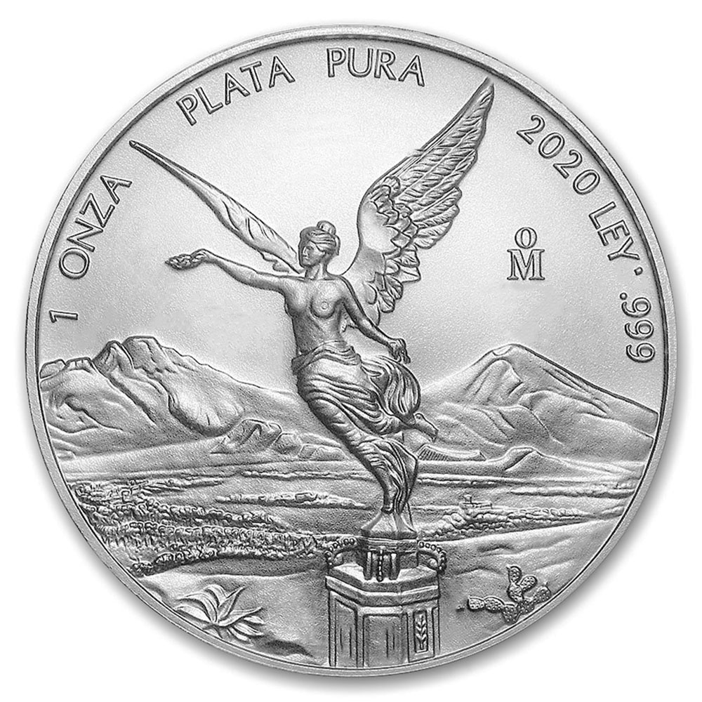 2020 1oz Mexican Silver Libertad Uncirculated