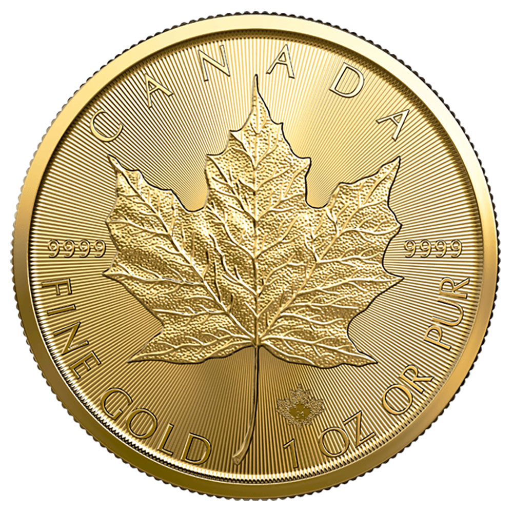 2021 1 oz Canadian Gold Maple Leaf Uncirculated