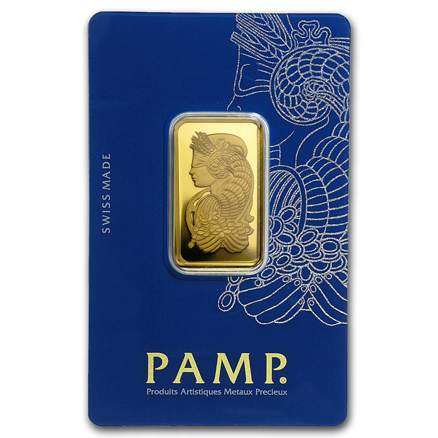 Pamp Suisse 20 Gram Gold Bar Lady Fortuna