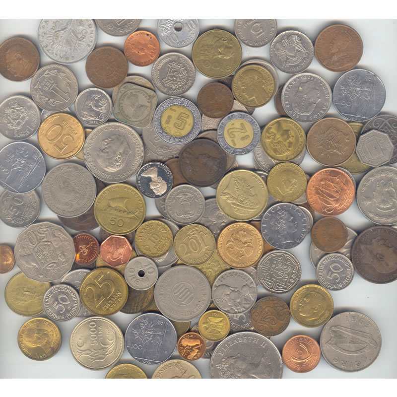 1 Pound World Coins