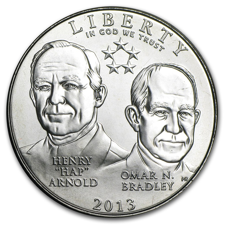 US Commemorative Half Dollar Uncirculated 2013-D 5-Star Generals