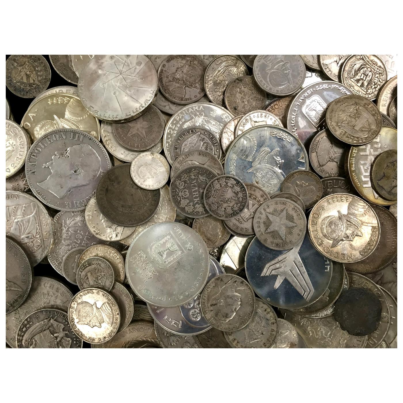 10 Ounces 90 Pure Silver World Coins Golden Eagle Coins