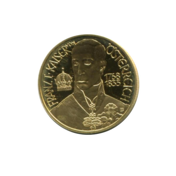 Austria 500 schilling gold PF 1994 Congress of Vienna