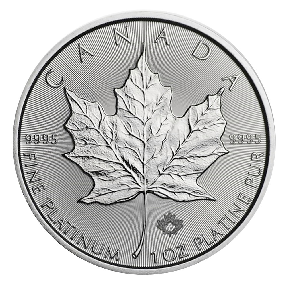 2021 Platinum 1oz Canadian Maple Leaf