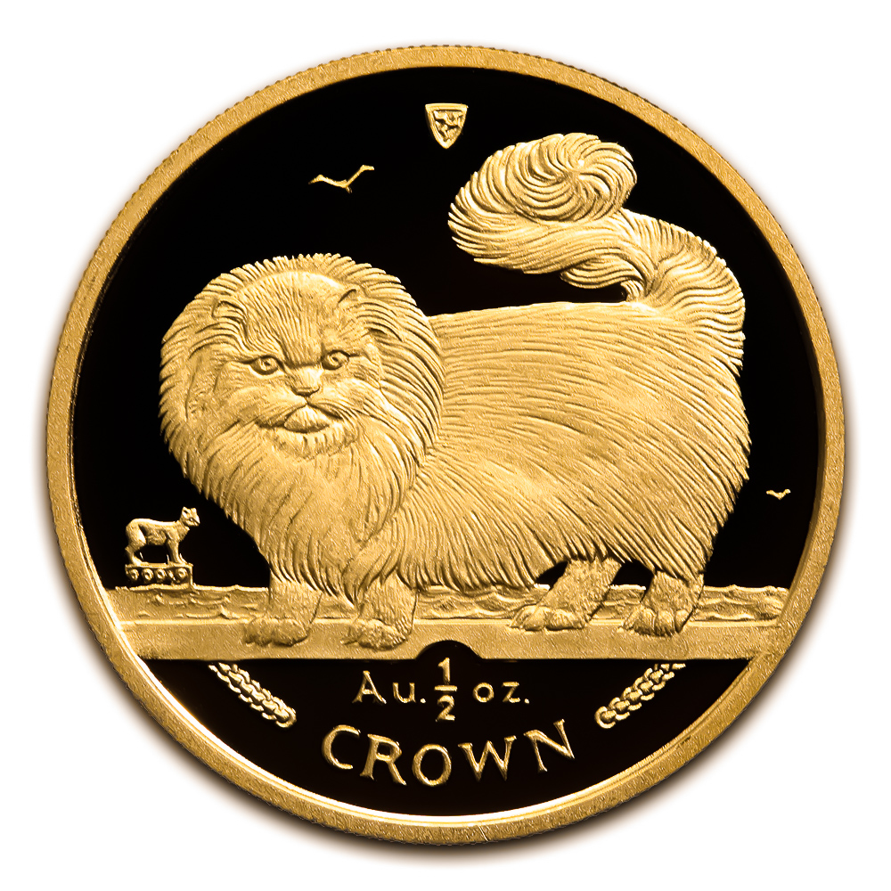 Isle of Man Gold Cat Half Ounce 1997