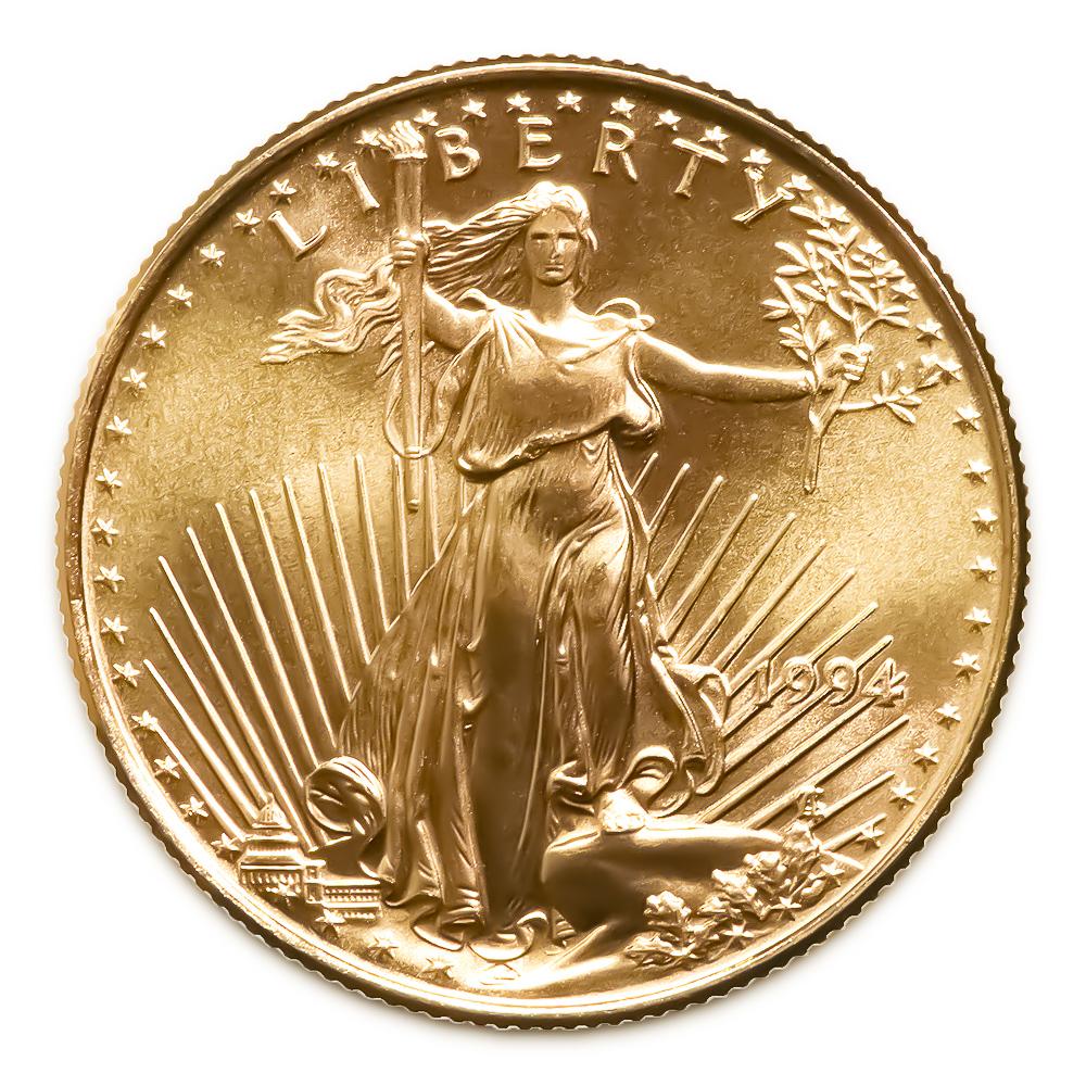 1994 American Gold Eagle 1 10 Oz