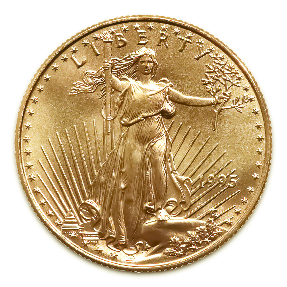 1995 American Gold Eagle 1/10 oz Uncirculated