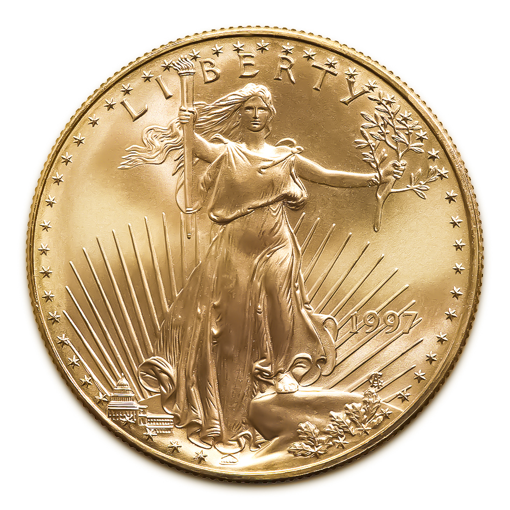 1997 American Gold Eagle 1/10 oz Uncirculated