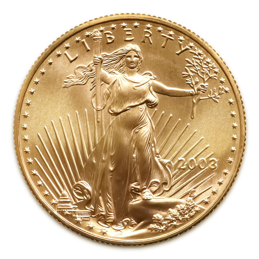 2003 American Gold Eagle 1 4 Oz Uncirculated Golden Eagle Coins