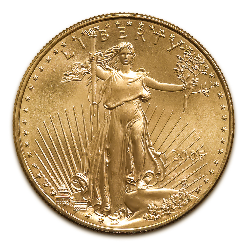 2005 American Gold Eagle 1/10 oz Uncirculated