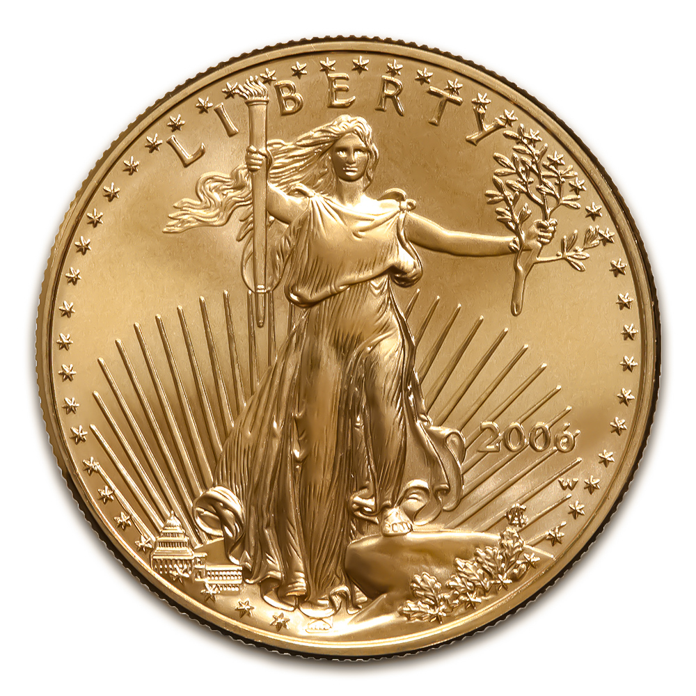 2006-W American Gold Eagle 1/2 oz Uncirculated