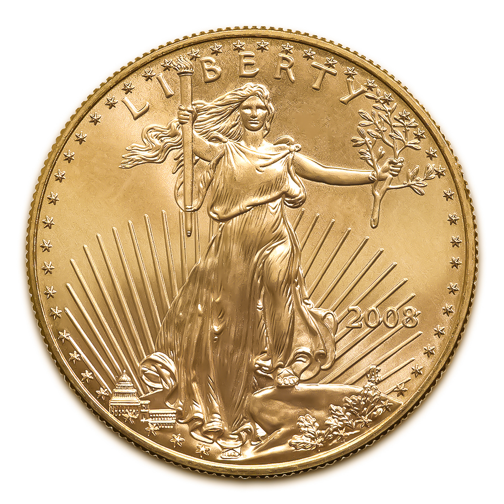 2008 American Gold Eagle 1 oz Uncirculated