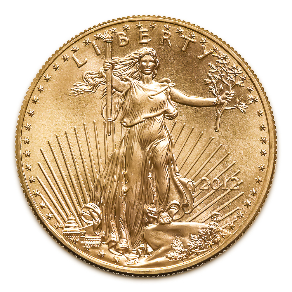 2012 American Gold Eagle 1/10 oz Uncirculated