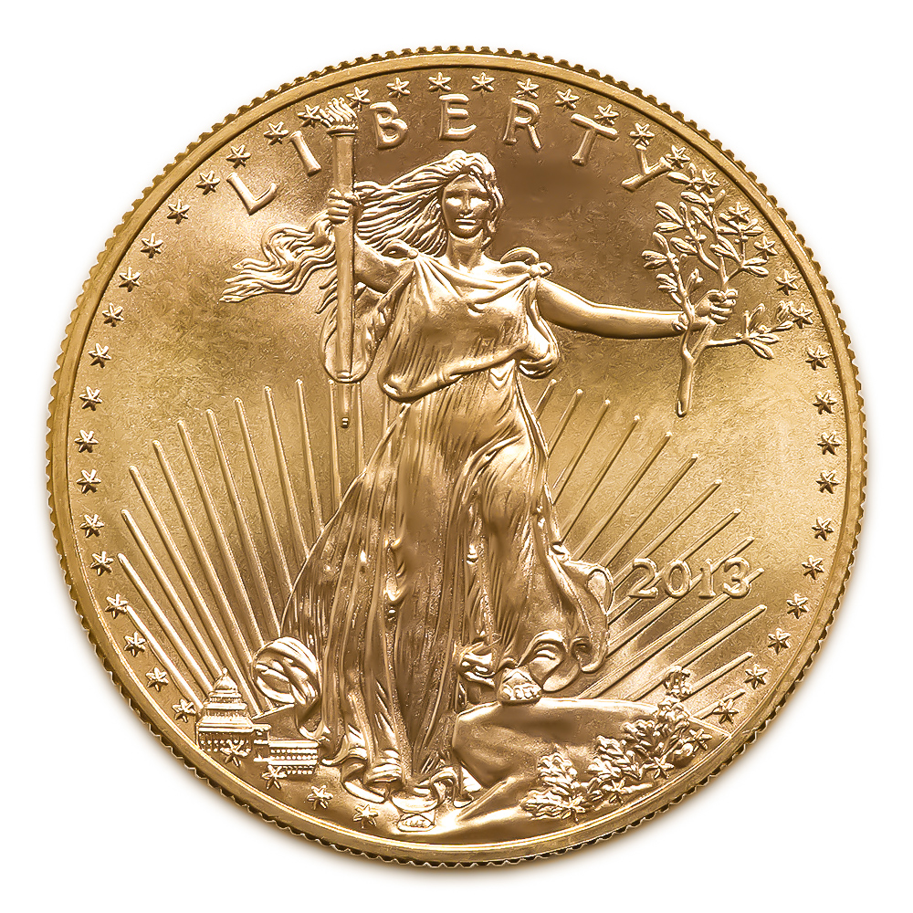 2013 American Gold Eagle 1/10 oz Uncirculated