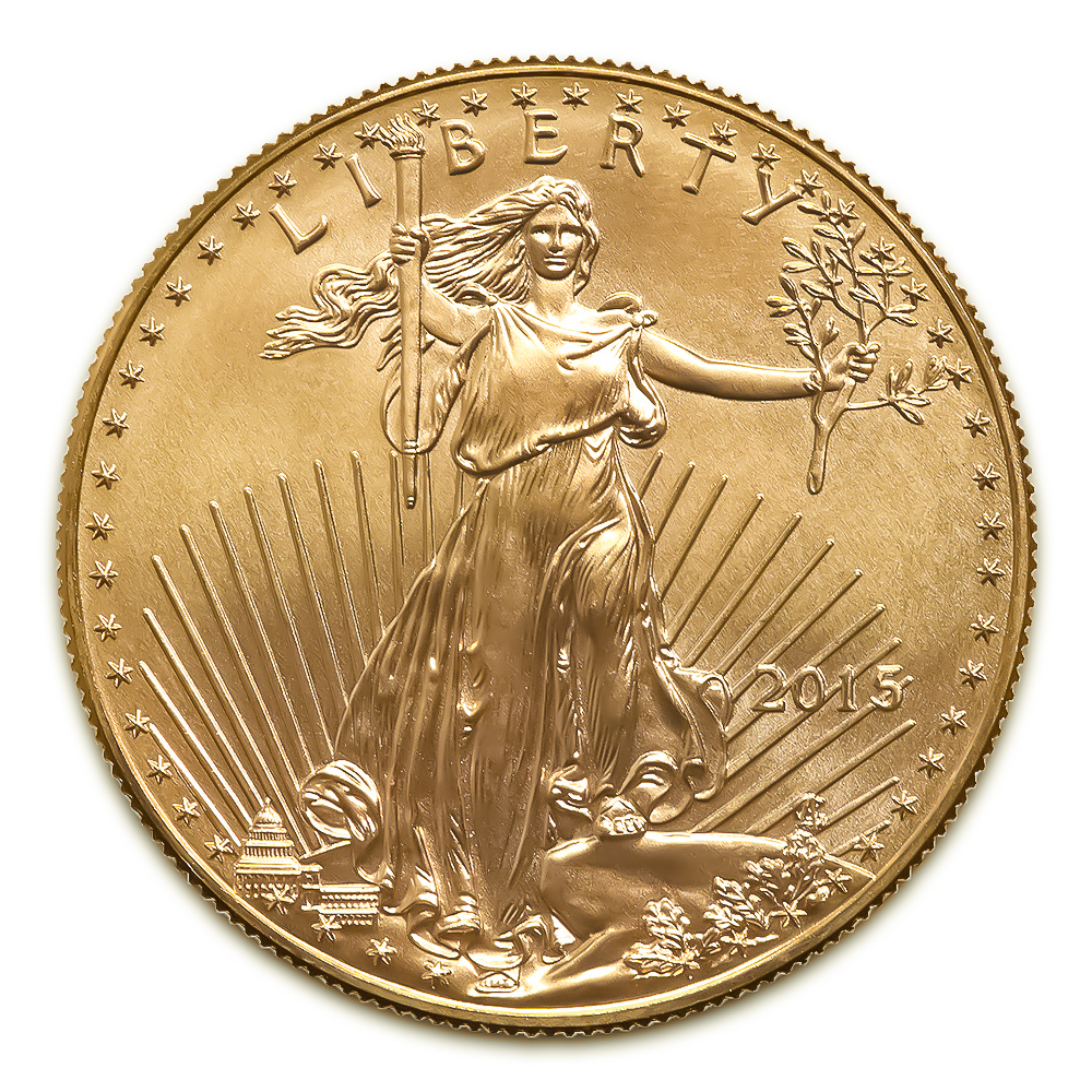 2015 American Gold Eagle 1/2 oz Uncirculated