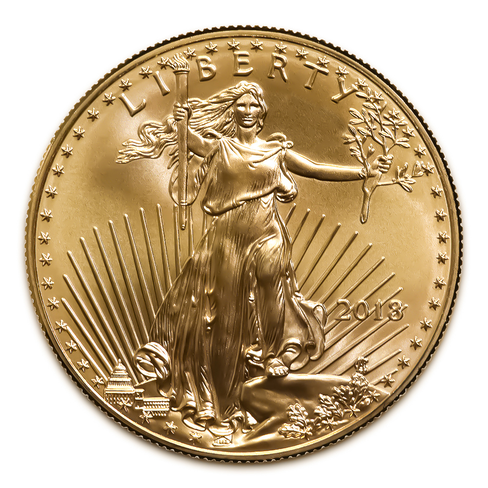 2018 American Gold Eagle 1/10 oz Uncirculated