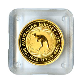Australian Gold Nugget / Kangaroo Half Ounce (dates our choice)