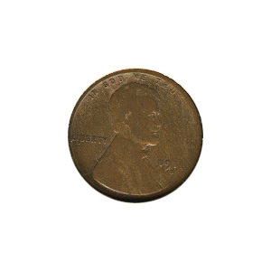Lincoln Cent G-VG 1911-S