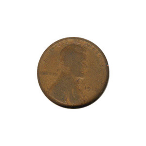 Lincoln Cent G-VG 1912