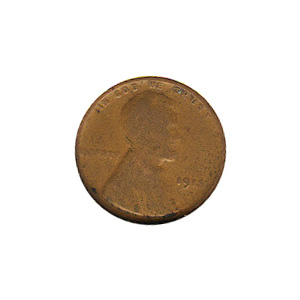 Lincoln Cent G-VG 1913