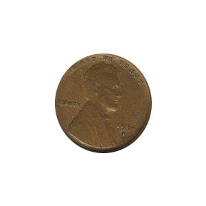 Lincoln Cent G-VG 1934-D