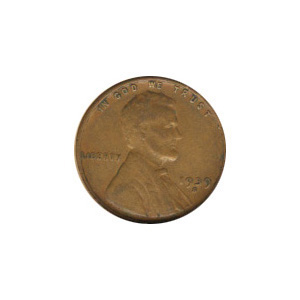 Lincoln Cent G-VG 1939-S