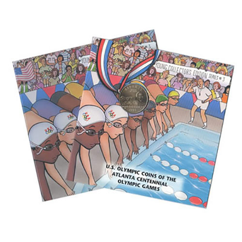 Young Collectors Commemorative Olympic Games Swimming 1994