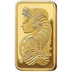 PAMP Suisse Half Ounce Gold Bar