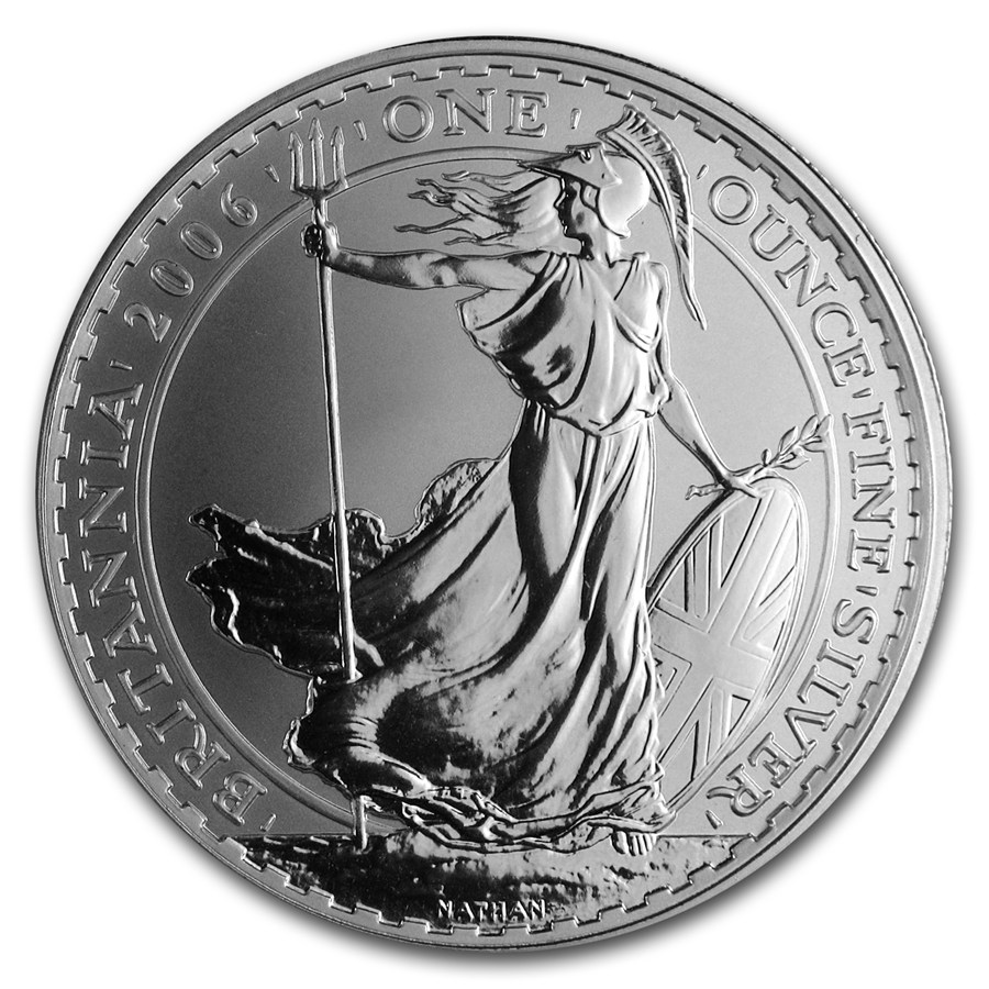 2006 1 oz Uncirculated Silver Britannia 1 oz 2006