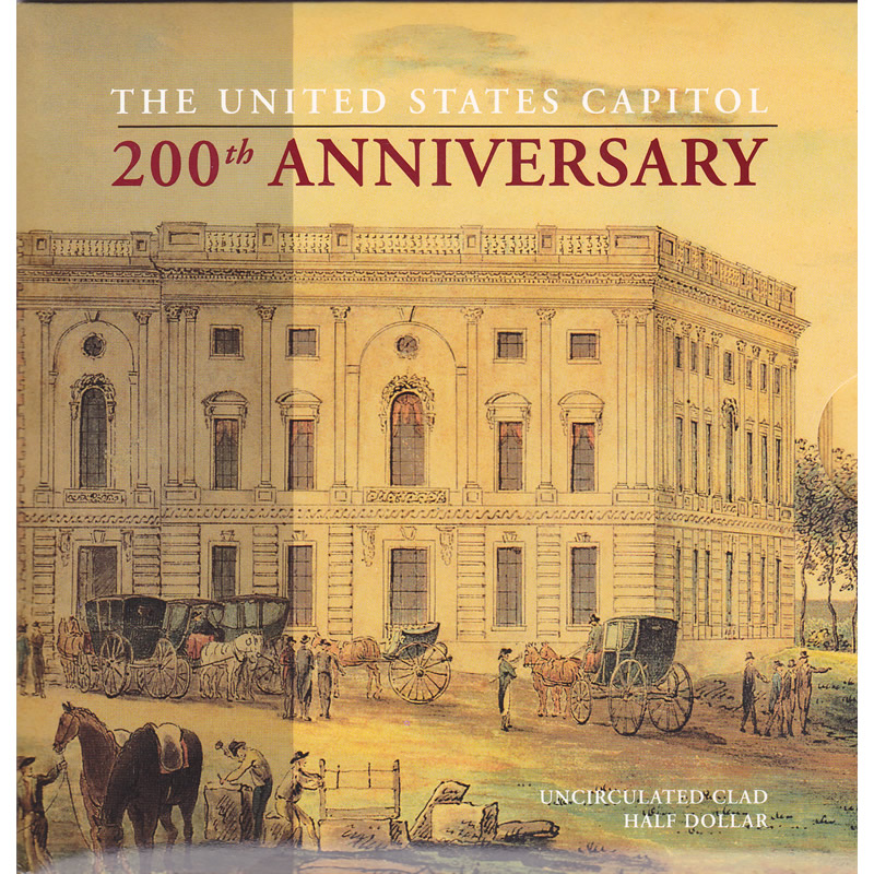 2001 U.S. Capitol 200th Anniversary Special Edition Set
