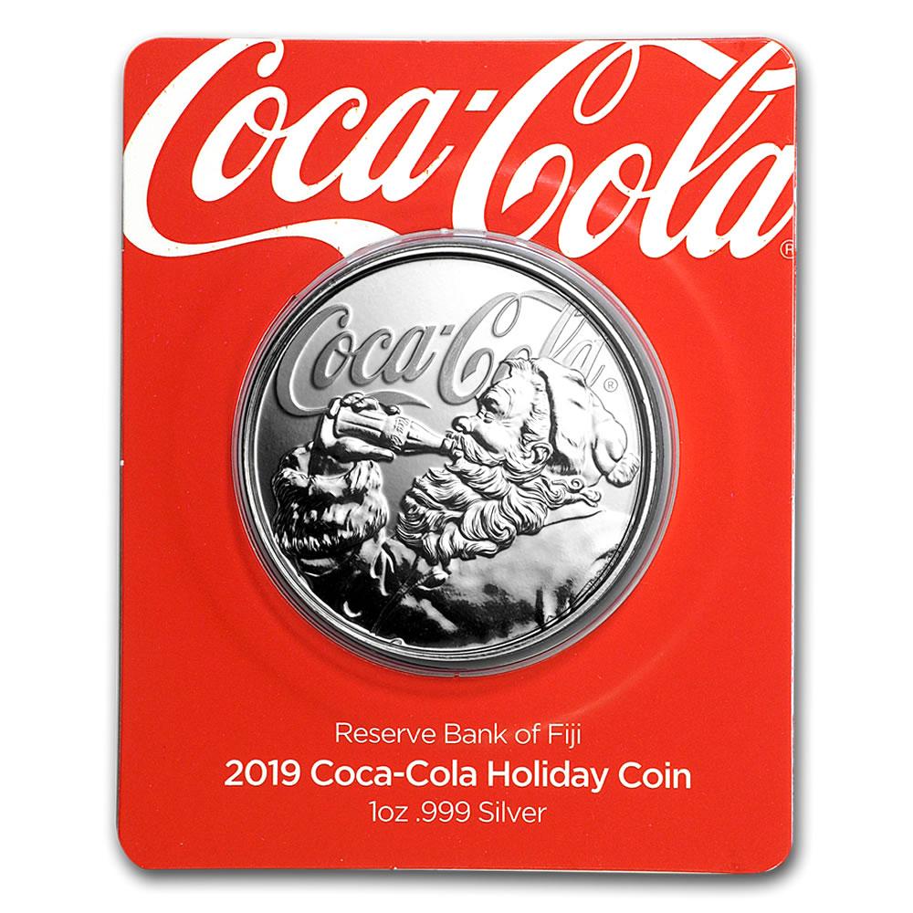 2019 coca cola holiday coin